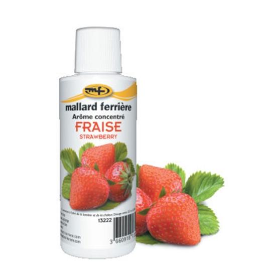 Arômes concentrés : Fraise - 125 ml