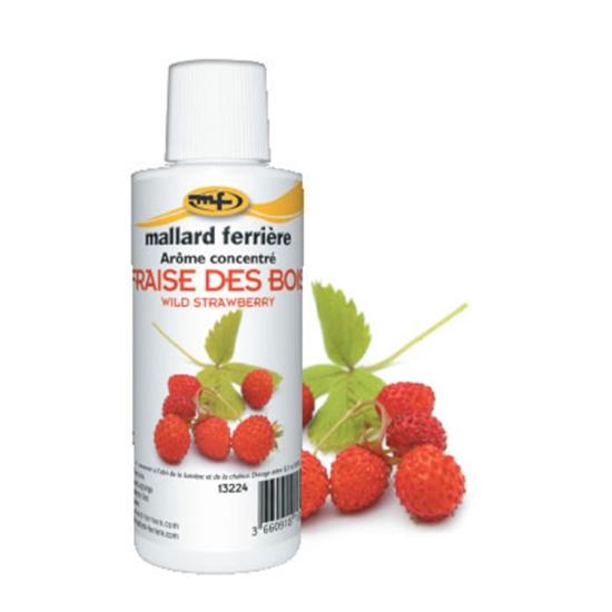 Arômes concentrés : Fraise des Bois - 125 ml