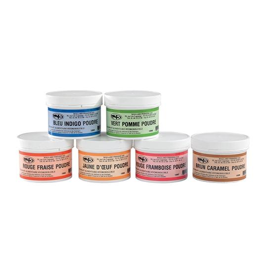 Colorant Poudre Concentré Alimentaire, Hydrosoluble - 50 ou 100 g