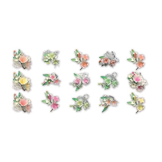 Plateau de 20 bouquets assortis Pastillage