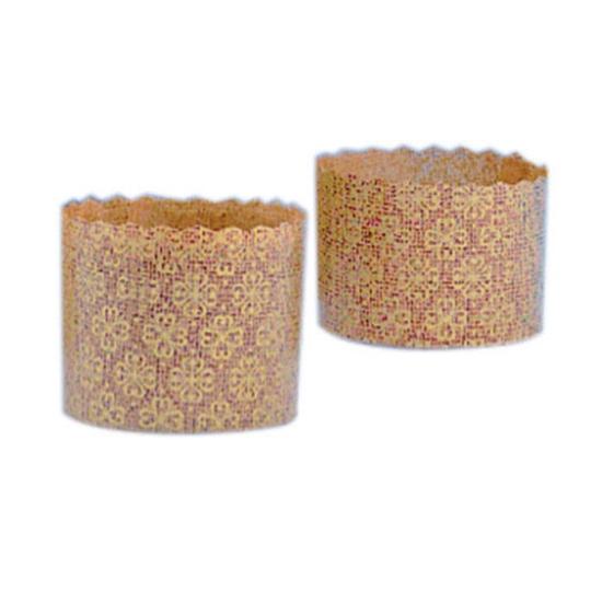 Moules Papier Mini Panettone - 100 unités