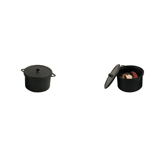 Mini cocotte 8cl micro-ondable - 10 pièces