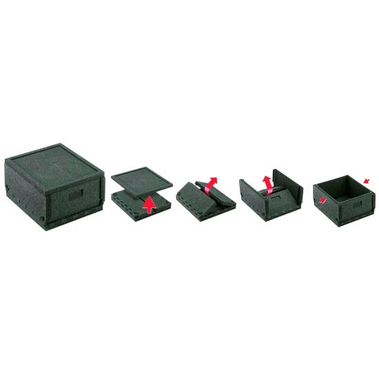 Box Pliable avec couvercle