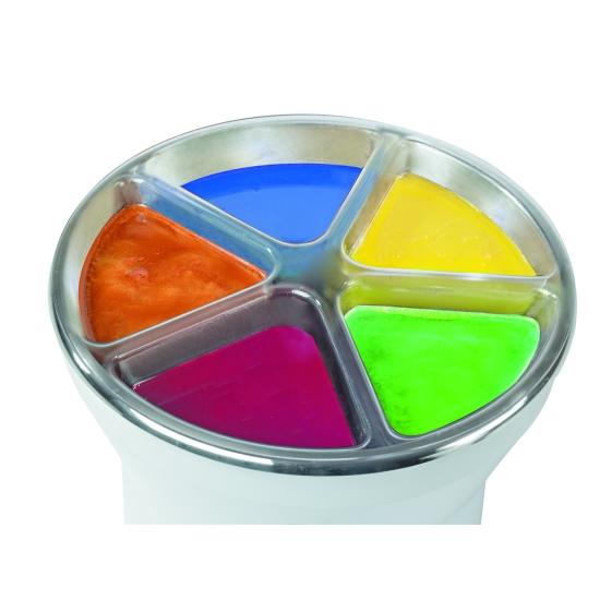 Bac 5 couleurs pour Mini-trempeuse / tempéreuse Kali 3.5 L -