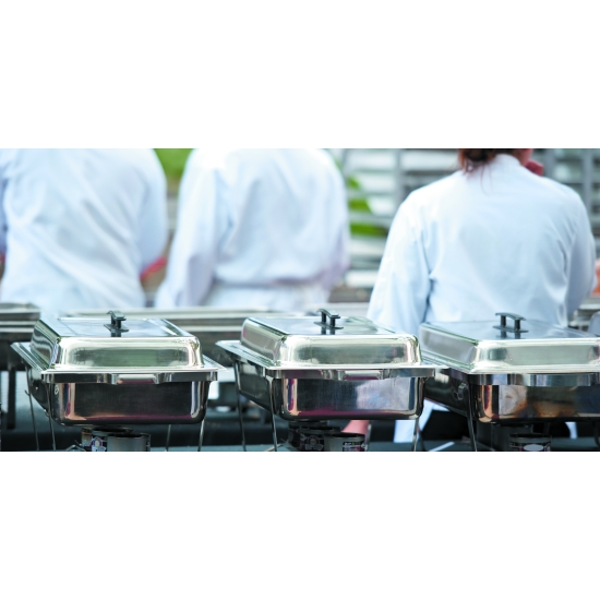 """Chafing dish """"Eco"""" avec couvercle inox"""