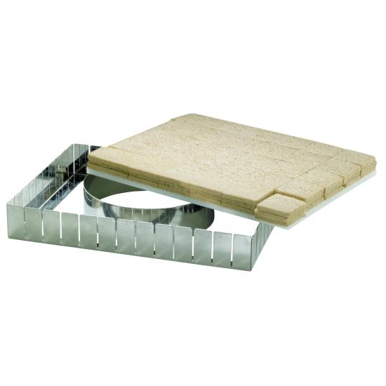 Planche polyéthylène 40 x 30 cm - Epaisseur 10 mm