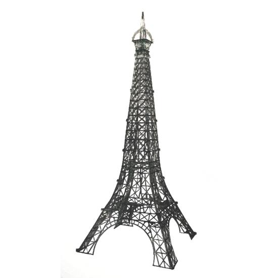 Présentoir Tour Eiffel noire-