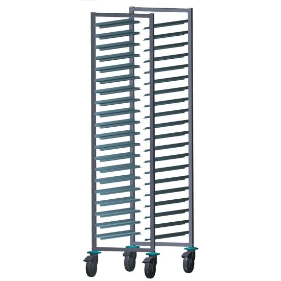 Echelle patissière et gastronorme inox - 20 étages - entrées 40 et 32.5 cm