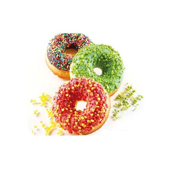 "Moules flexibles ""Silicon Flex"": 6 donuts"