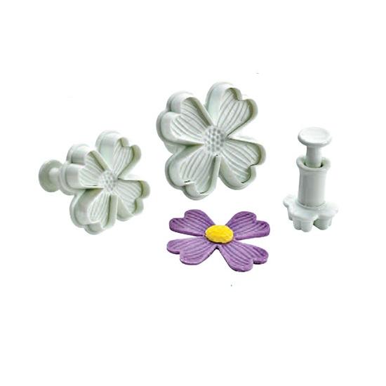Découpoir plastique fleur 4 pétales