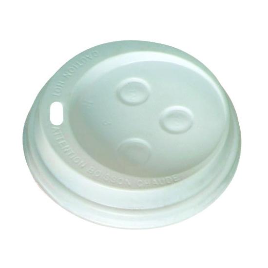 Couvercles dôme pour gobelets boissons chaudes