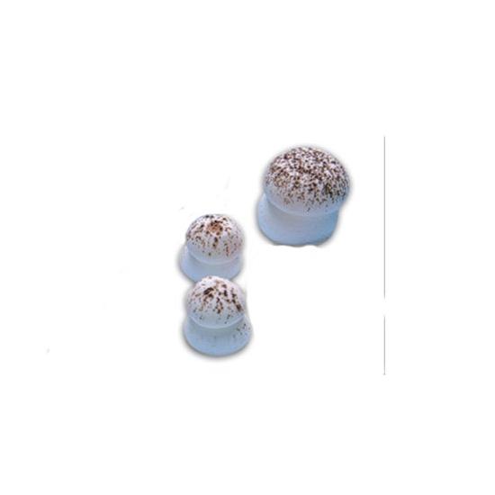 Sujets sucre - Champignons sucre Beige petit modèle