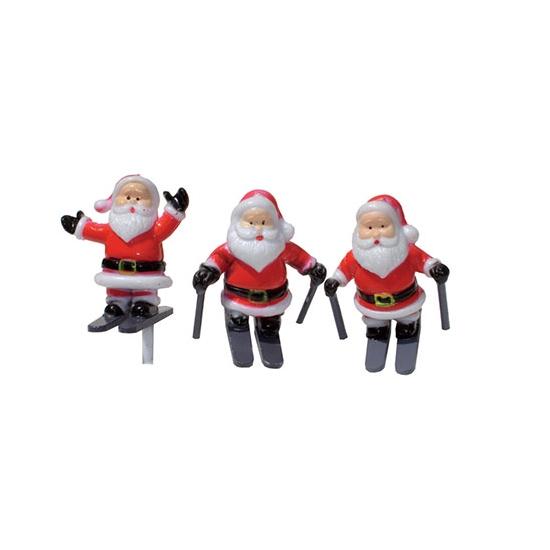 Père Noel sur ski