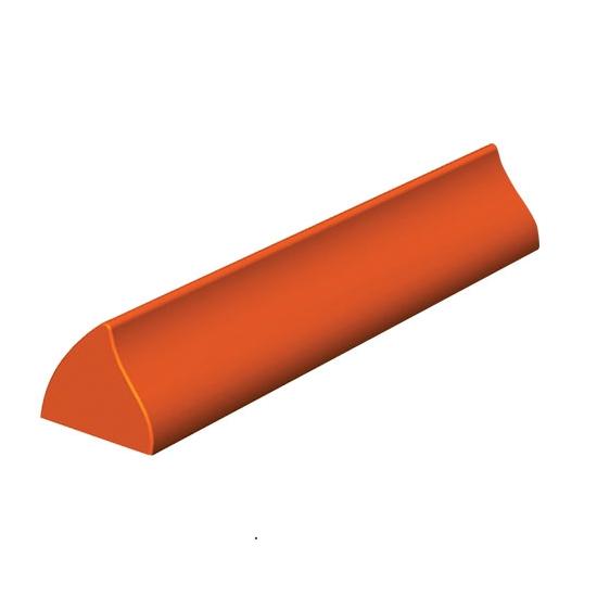 Gouttières à bûche plastique Vague - paquet de 12