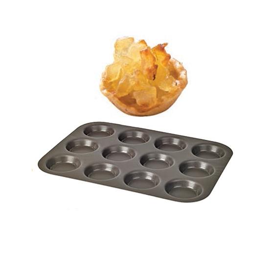 Plaque de 12 Tartelettes diamètre 6.5cm