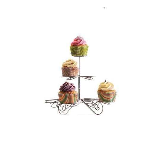 Présentoir à cupcakes métallique