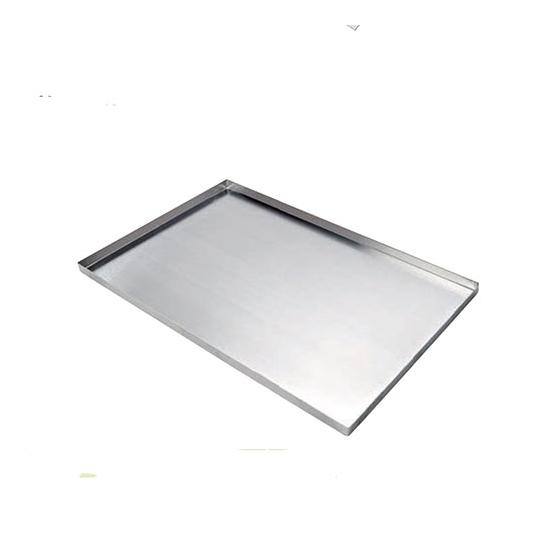 Plaque aluminium rebords droits