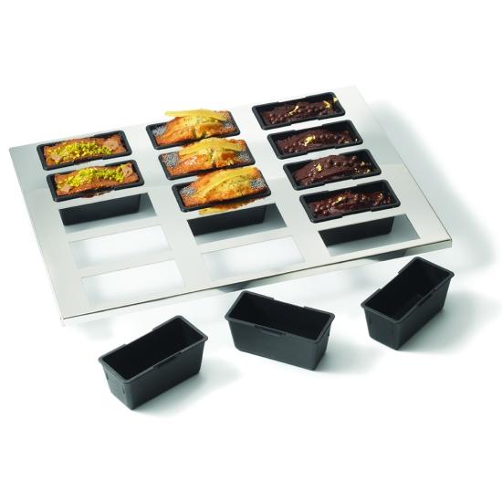 Plaque de 15 cakes Exoglass®