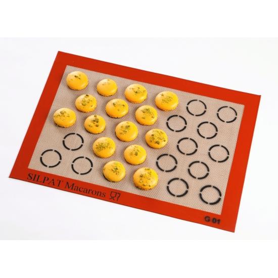 Toile Silpat à macarons