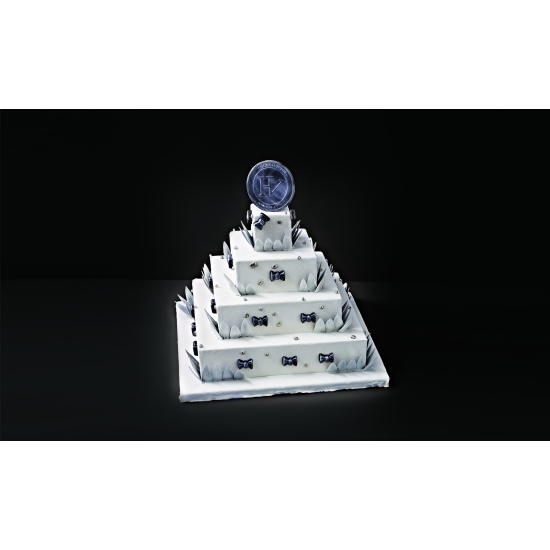 Wedding Cake Carré - pièce détachée - Insert ABS 80 mm