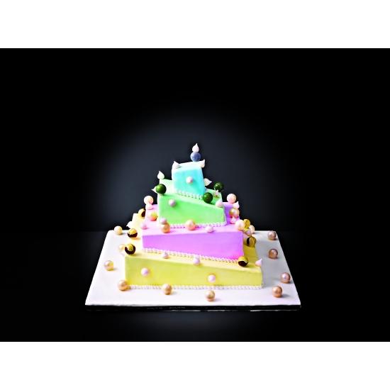 Wedding Cake Déstructuré - pièce détachée - Insert ABS 80 mm