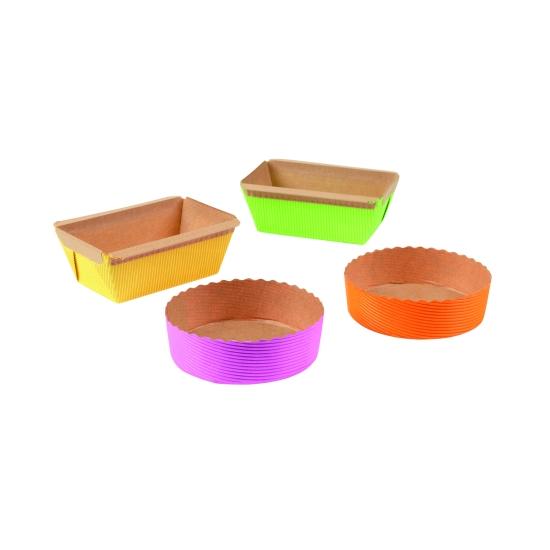 Moules Papier coloré - Moule cake PM 95