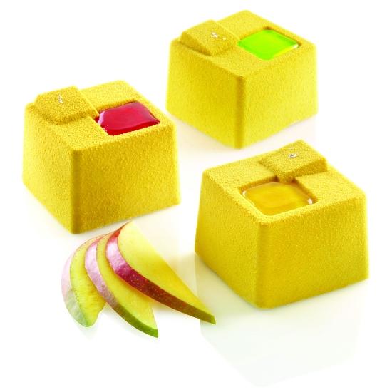 """Moule en silicone - 8 cubes kuadro  """"KUADRO"""" -  8x150 ml"""
