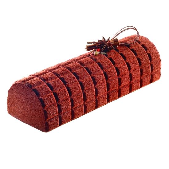Tapis décor morceau de chocolat (Kit Tablette) - Silikomart