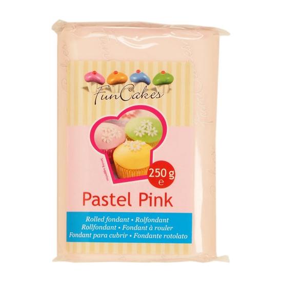 FunCakes Fondant Rose pastel Halal / Casher