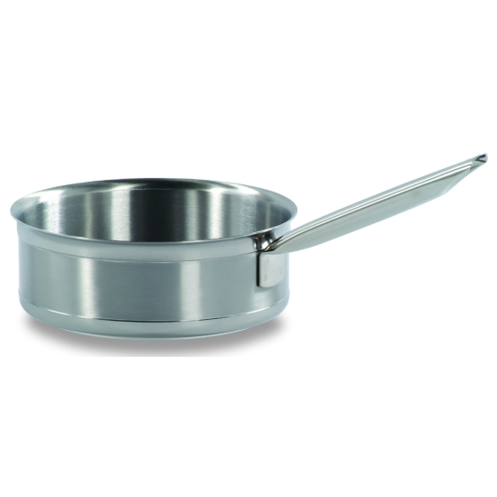 Sauteuse cylindrique inox tradition