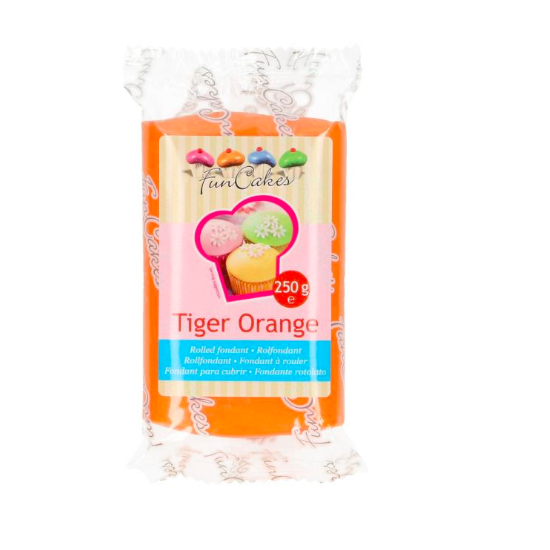 FunCakes Fondant - Orange  Halal / Casher