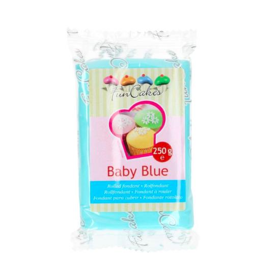 FunCakes Fondant Baby Blue Halal / Casher