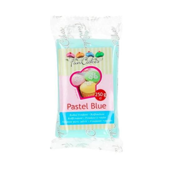 FunCakes Fondant - Bleu Pastel Halal / Casher