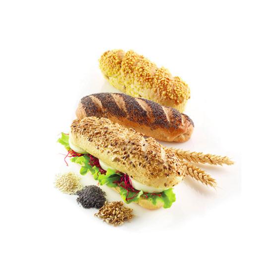 Moule en Silicone - Mini Baguette