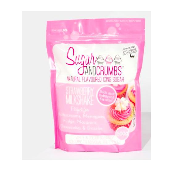 Sucre aromatisé - Milkshake Fraise