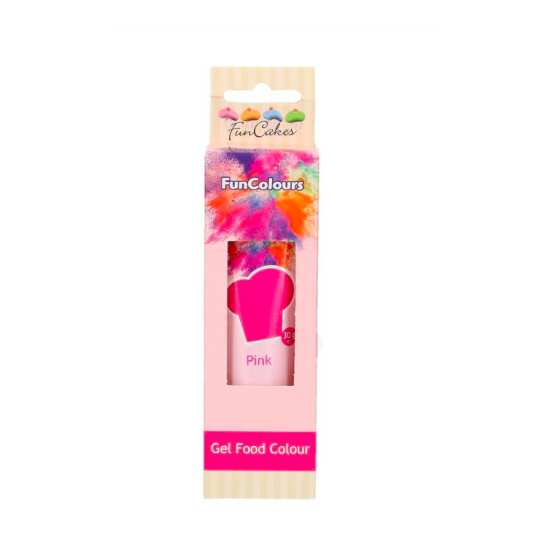 Colorant Gel FunCoulours - Rose- Pink - Halal