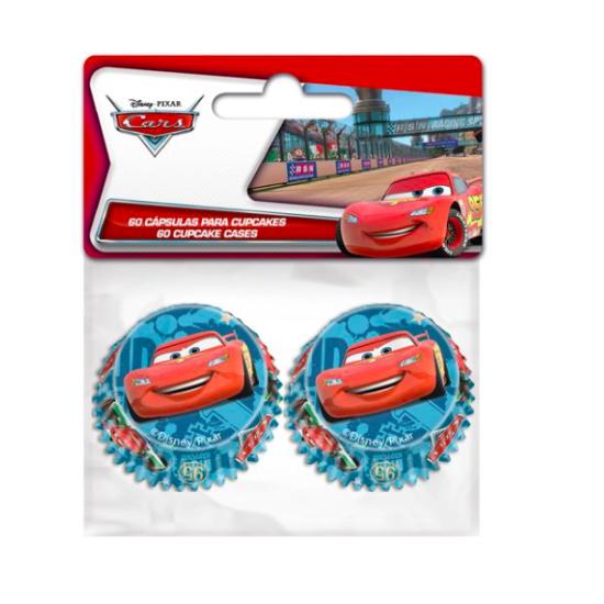 Caissettes pour mini Cupcakes - Cars