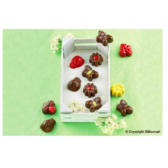 Plaque chocolat Easy choc 15 sujets Springlife