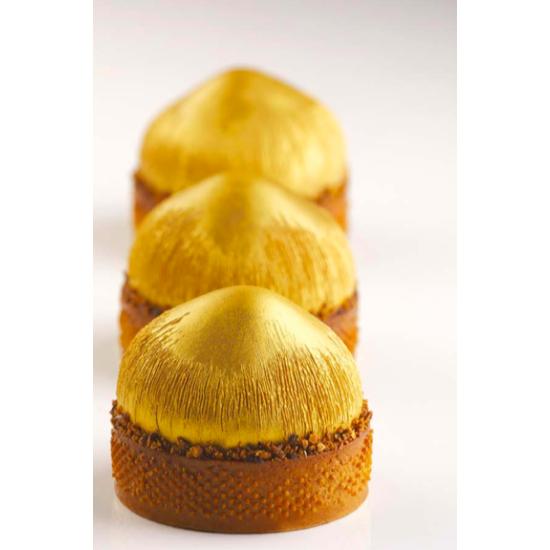 Moule Silicone Noisette décoration tarte - Collaboration avec Cédric Grolet