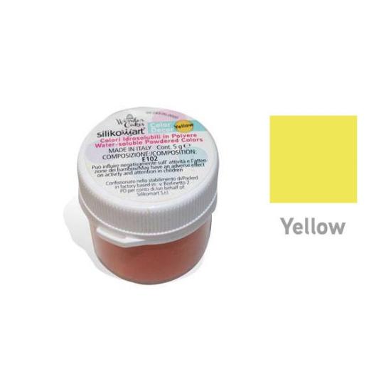 Colorant alimentaire hydrosoluble en poudre - Jaune - 5gr
