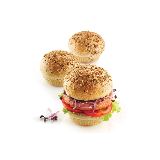 Moule Silicone - Pain à Burger - Silikomart