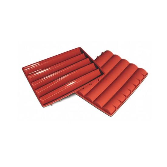 """Moules flexibles """"Silicon Flex"""": plaque barre de chocolat"""