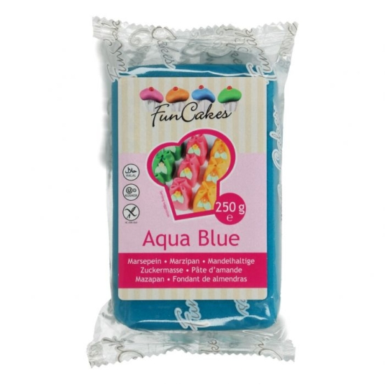 Pâte d'amande bleue - Funcakes - 250g