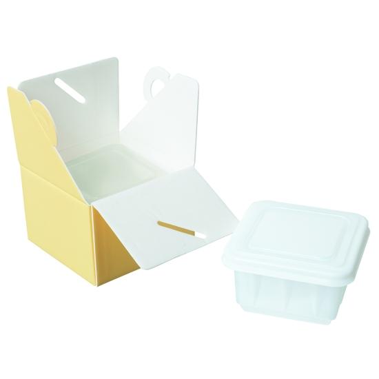 Boîtes isolantes à glaces en PSE - Par 25 unités