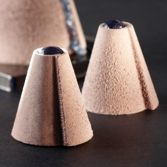 Moule silicone Pavoflex - 54 mini-cones