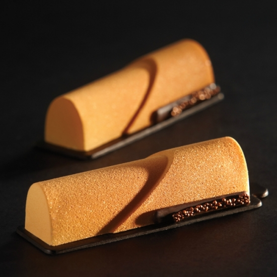 Moule silicone Pavoflex - 20 bandes rondes