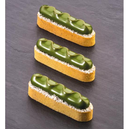 Oblong fin en acier micro perforé - En collaboration avec Gianluca Fusto
