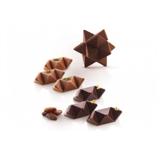 Moule en silicone Star Game35 - - spécial chocolat