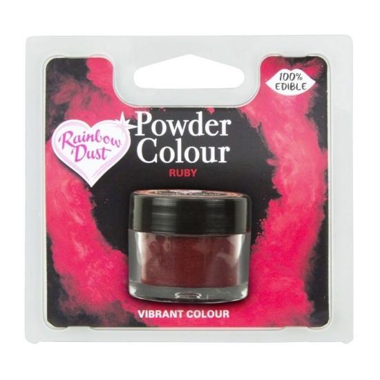 RD POWDER COLOUR - RUBY