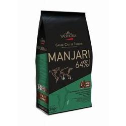 MANJARI 64% - VALRHONA - 250 GRAMMES